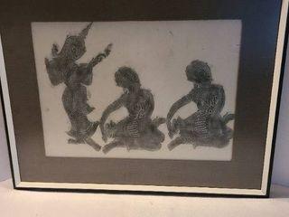 Framed Art 29 x 24