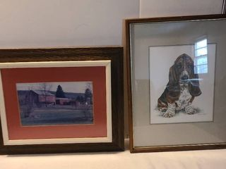 Framed Art 17x20 and 17x21