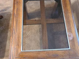 End table 28x23 inches