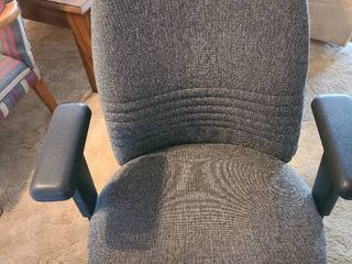 Office chair on rollers