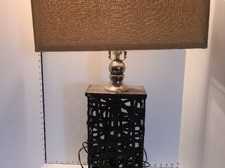 lamp 32 inches with metal base
