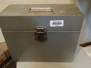 Metal lockbox