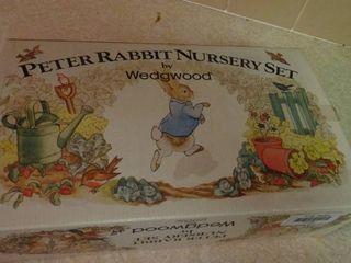 Peter Rabbit Nursery Set by Wedgwood