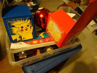 lot of assorted kids toys
