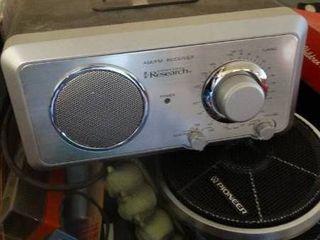 lot of Home Goods  Radio  Aroma Disc Player  Etc
