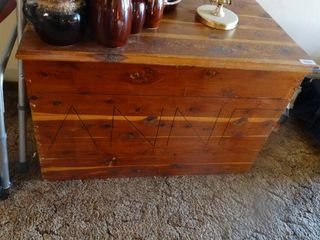 large Wood Chest