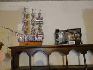 Budweiser can sailboat   misc