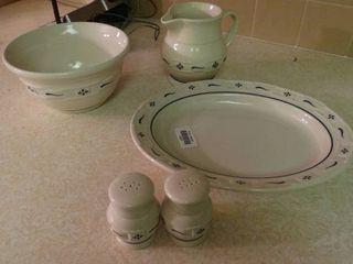 lot of longaberger Pottery