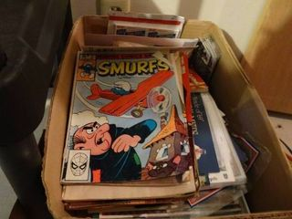 Magazines  comics   misc