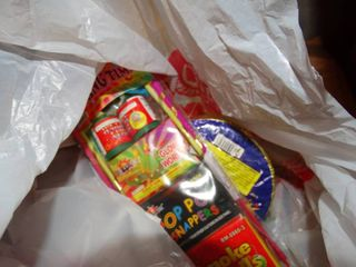 large lot of assorted fireworks