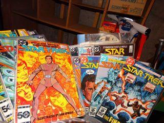Assorted Star Trek comics
