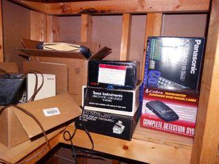 lot of various electronics
