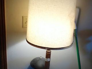 lot of 2 lamps and Alarm Clock