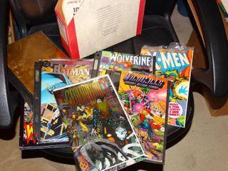 Various X Men comics