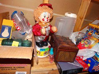 Various home decor items