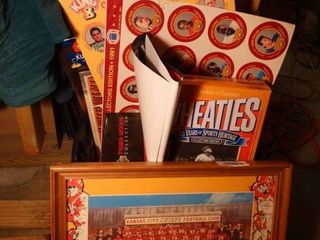 KC Chiefs picture  Babe Ruth Wheaties box   misc sports items