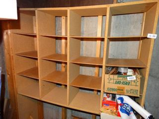 Wood organizer cabinet