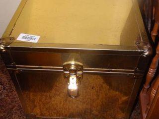 Metallic Gold Box