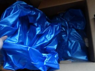 lot of 2 Blue Inflatables