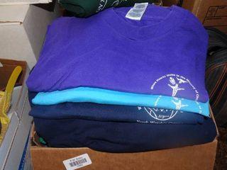 lot of Church T Shirts
