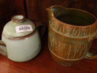 lot of 2 Frankoma Pottery Pieces