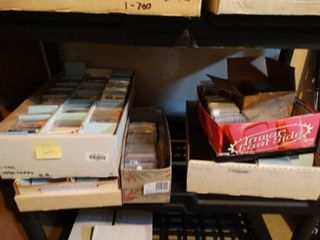 lot of assorted sports cards