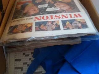 lot of Newspapers and Magazines