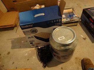 Assorted home decor items
