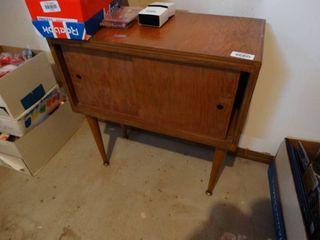 2 door vintage cabinet