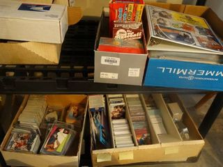 large lot of various sports cards