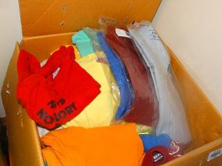 lot of T Shirts and Collared Shirts