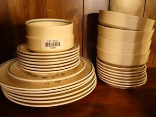 lot of Temper Ware by lenox Dishes