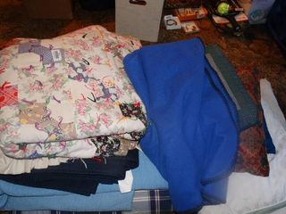 lot of Bedding