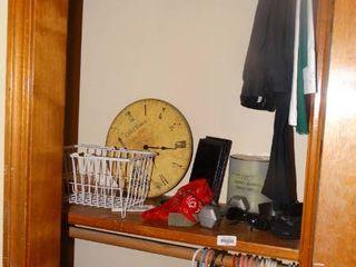 Contents of Closet  Hangers  Home Decor  Shoes