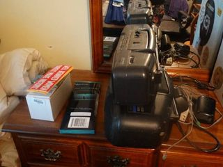 lot of Stereos  Car Stickers  and Playing Cards