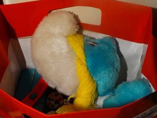 lot of Smurf Toys