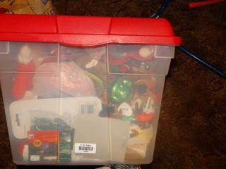 lot of Christmas Ornaments and Decor