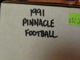 lot of 1991 Pinnacle Football Trading Cards