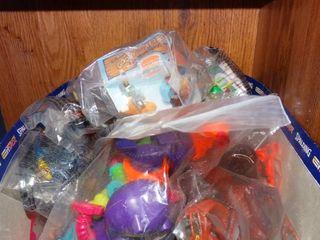 lot of Toys still in Plastic
