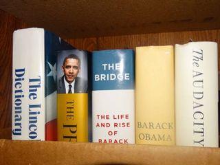 lot of Obama Books