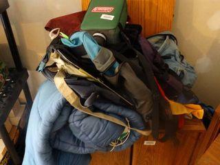 Sleeping bag  camping items