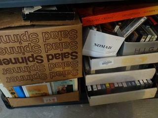lot of various VHS movies