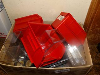 lot of Trading Card Organizers