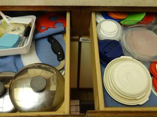 lot of Food Storage Containers