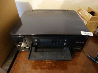 Epson XP 640 printer