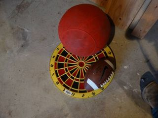 Dartboard  football   bounce jumper