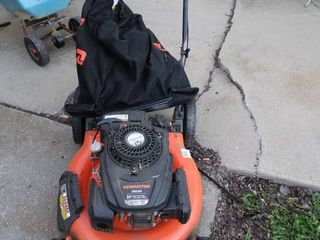 Remington RM 120 lawnmower with Bagger