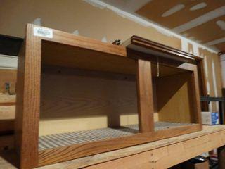 2 door wood cabinet