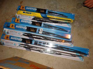 8 new windshield wiper blades