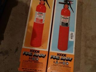 2 new fire extinguishers  new in boxes